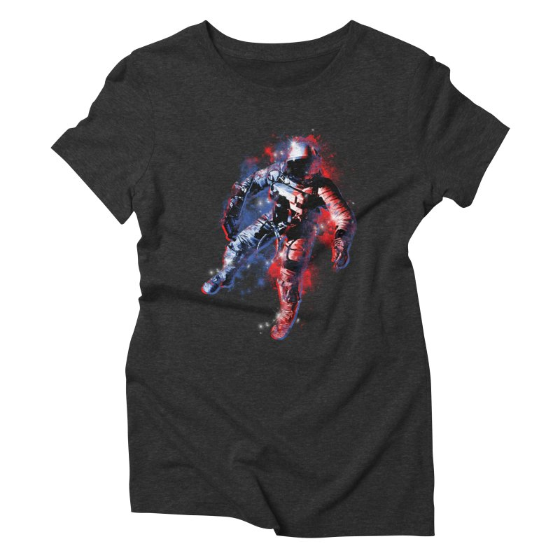SPACE ODDITY Women's Triblend T-Shirt by AGIMATNIINGKONG's Artist Shop