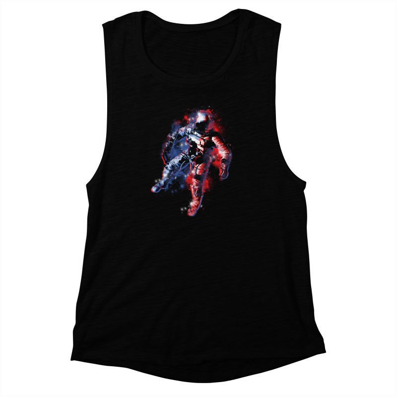 SPACE ODDITY Women's Muscle Tank by AGIMATNIINGKONG's Artist Shop