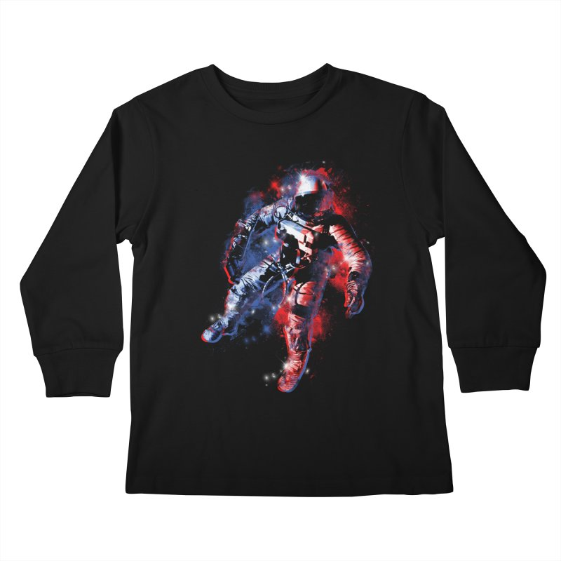 SPACE ODDITY Kids Longsleeve T-Shirt by AGIMATNIINGKONG's Artist Shop