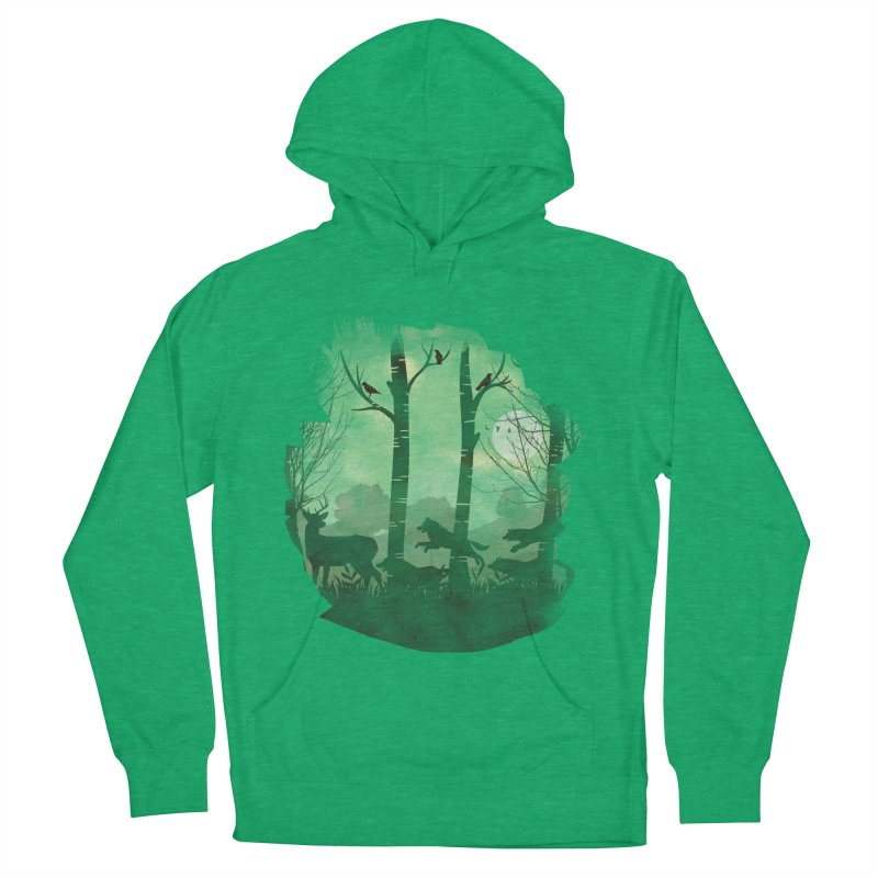 Night Chase Women's Pullover Hoody by AGIMATNIINGKONG's Artist Shop