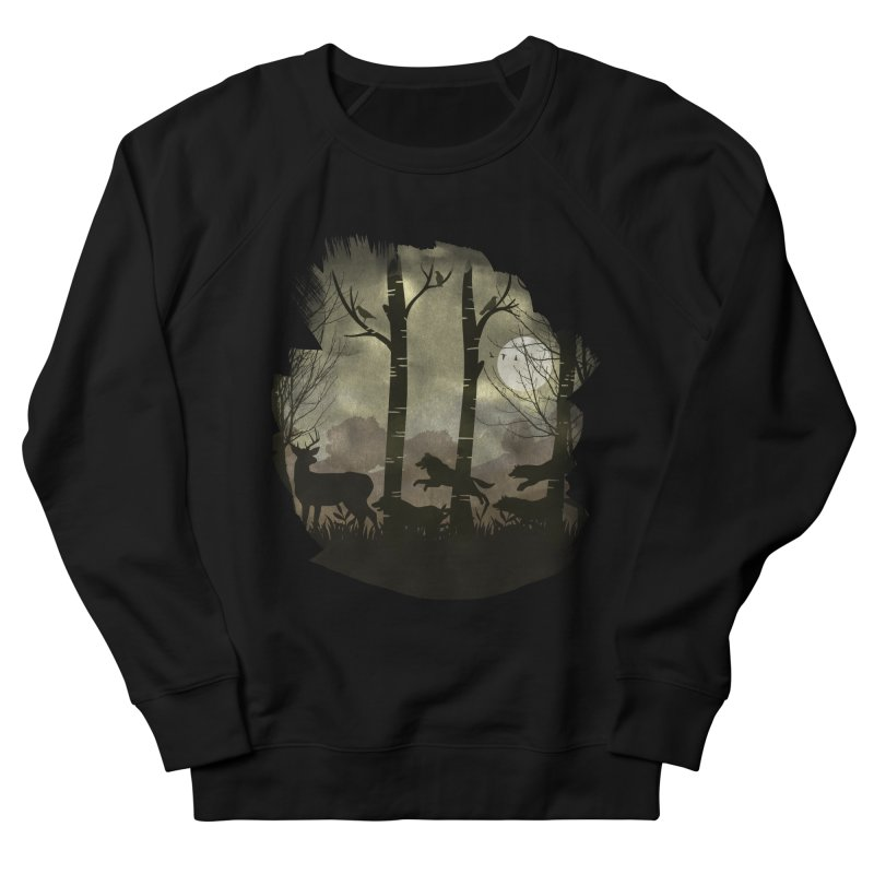Night Chase Men's Sweatshirt by AGIMATNIINGKONG's Artist Shop