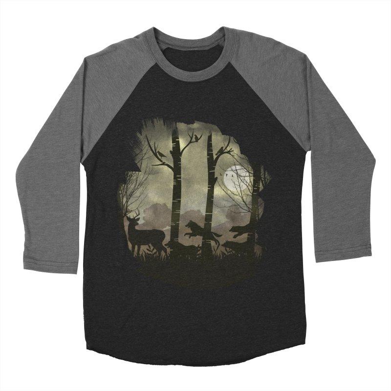 Night Chase Men's Baseball Triblend Longsleeve T-Shirt by AGIMATNIINGKONG's Artist Shop