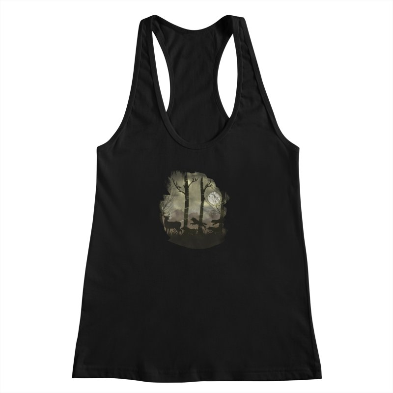 Night Chase Women's Tank by AGIMATNIINGKONG's Artist Shop