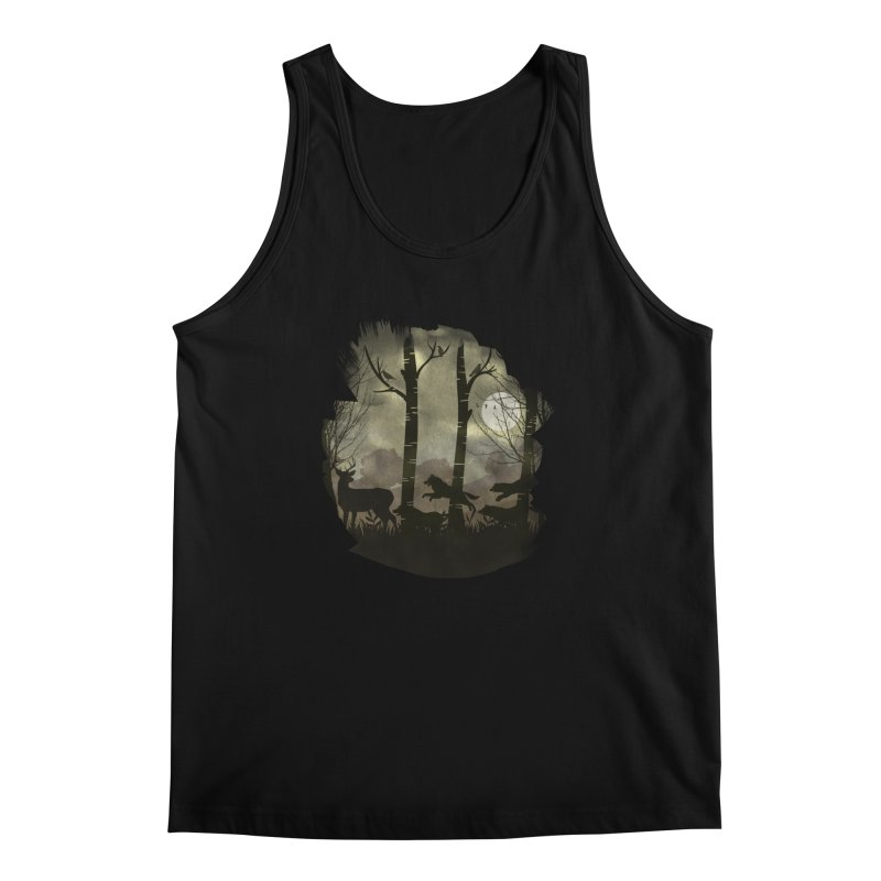 Night Chase Men's Regular Tank by AGIMATNIINGKONG's Artist Shop