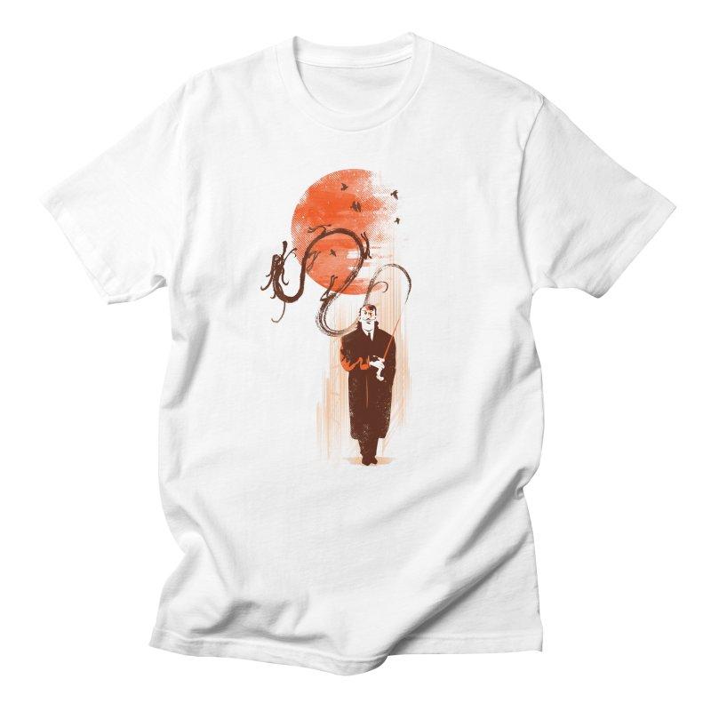 DALI'S DRAGON Men's T-shirt by AGIMATNIINGKONG's Artist Shop
