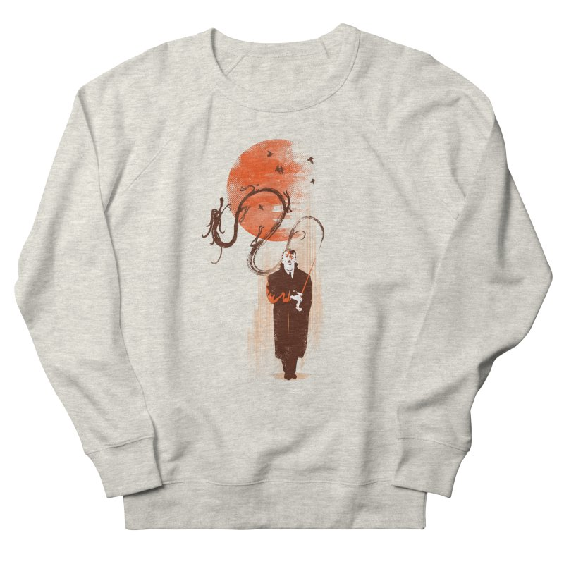 DALI'S DRAGON Men's Sweatshirt by AGIMATNIINGKONG's Artist Shop