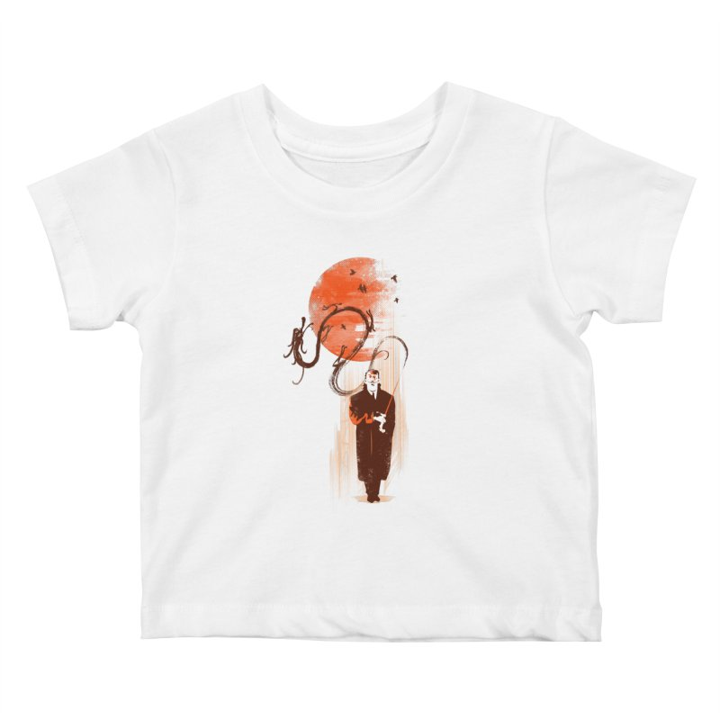 DALI'S DRAGON Kids Baby T-Shirt by AGIMATNIINGKONG's Artist Shop