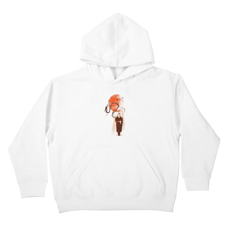 DALI'S DRAGON Kids Pullover Hoody by AGIMATNIINGKONG's Artist Shop