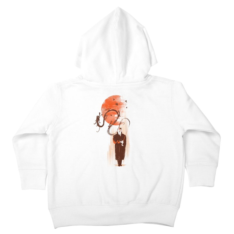 DALI'S DRAGON Kids Toddler Zip-Up Hoody by AGIMATNIINGKONG's Artist Shop