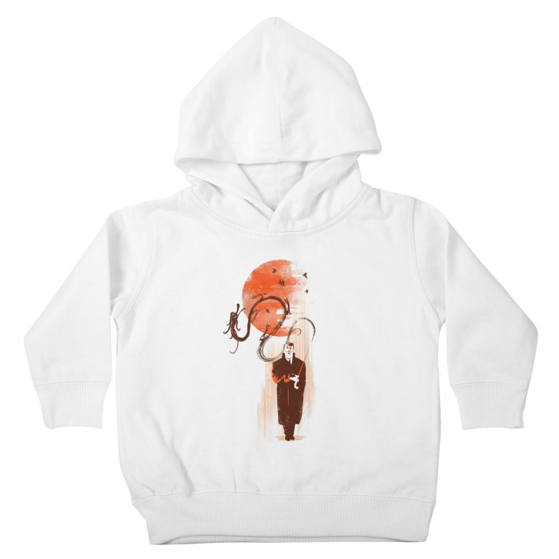 DALI'S DRAGON Kids Toddler Pullover Hoody by AGIMATNIINGKONG's Artist Shop