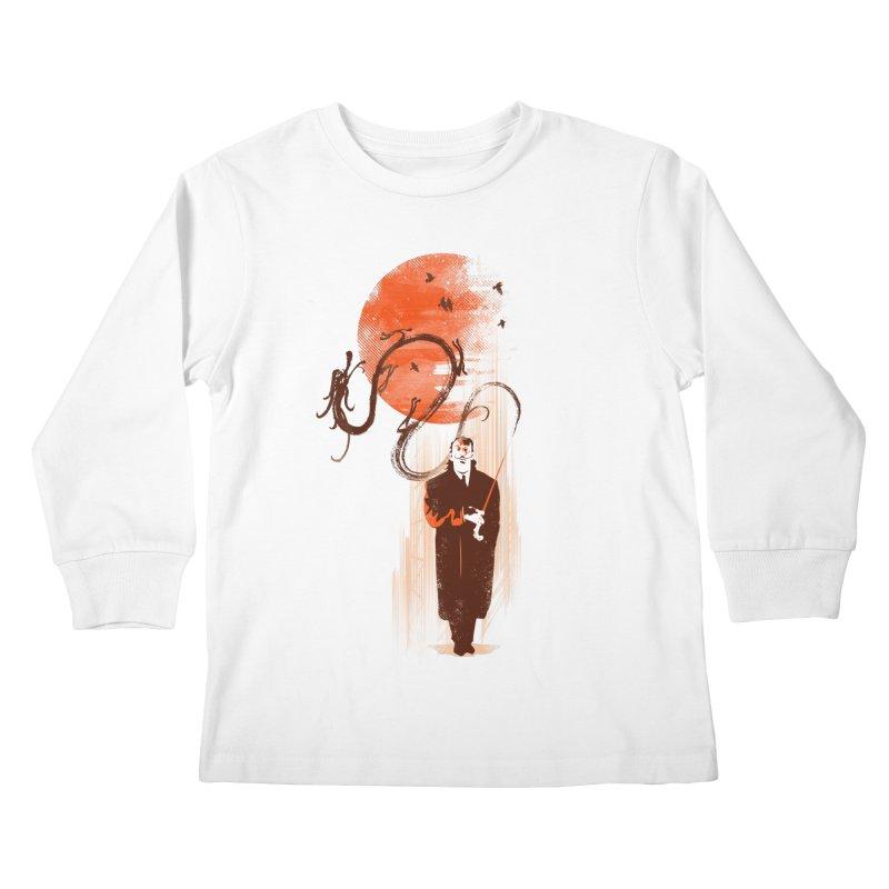 DALI'S DRAGON Kids Longsleeve T-Shirt by AGIMATNIINGKONG's Artist Shop