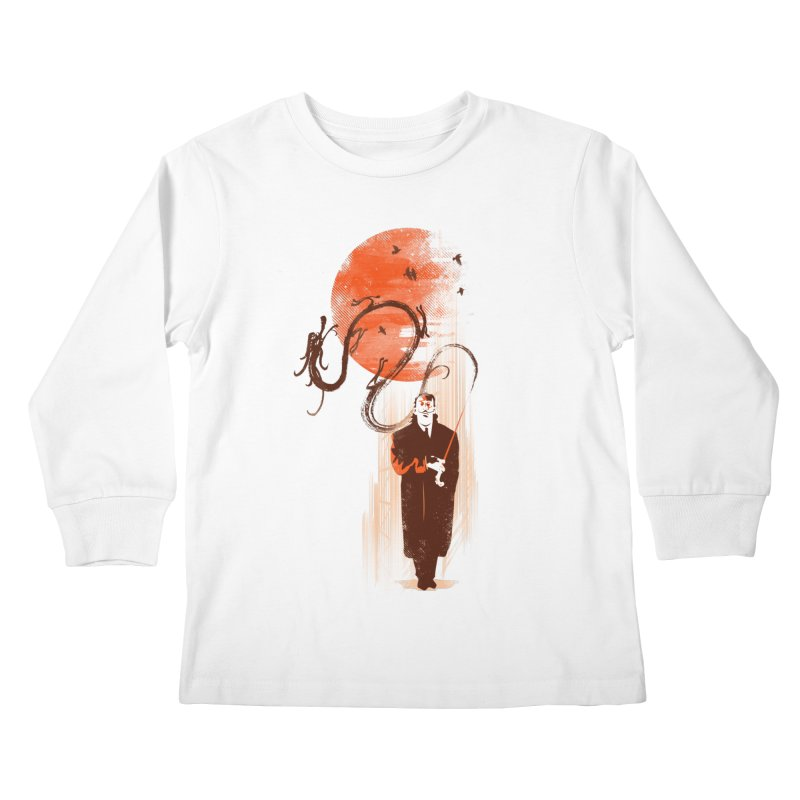 DALI'S DRAGON Kids Longsleeve T-Shirt by AGIMATNIINGKONG's Artist Shop