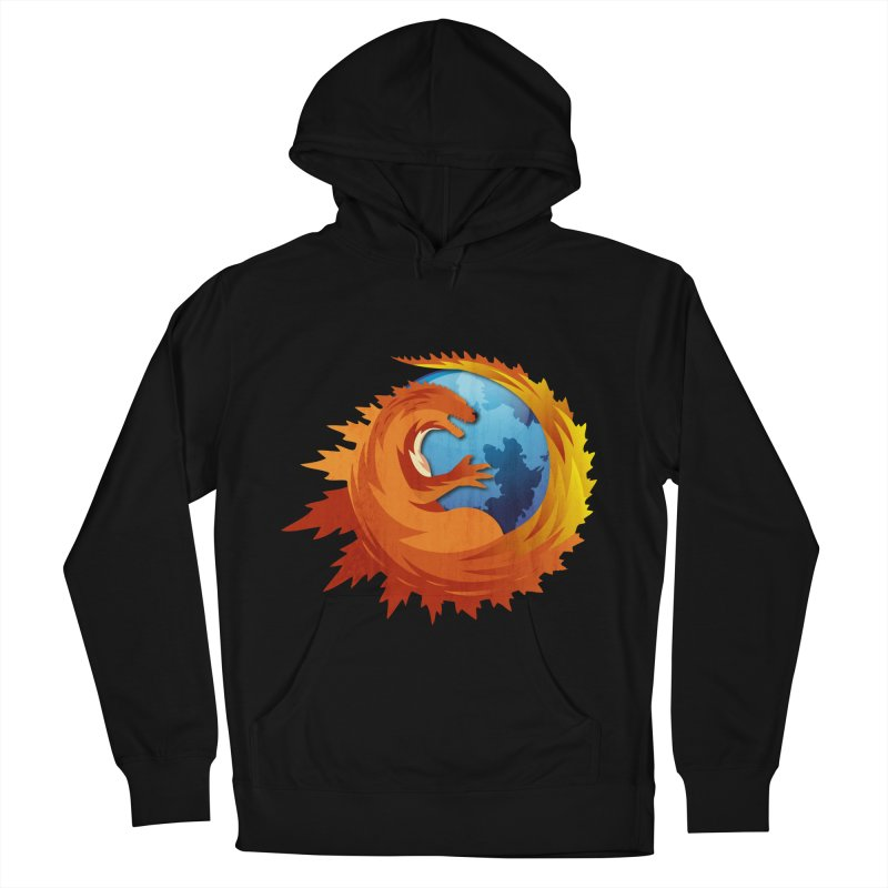 Godzilla Browser Men's French Terry Pullover Hoody by AGIMATNIINGKONG's Artist Shop