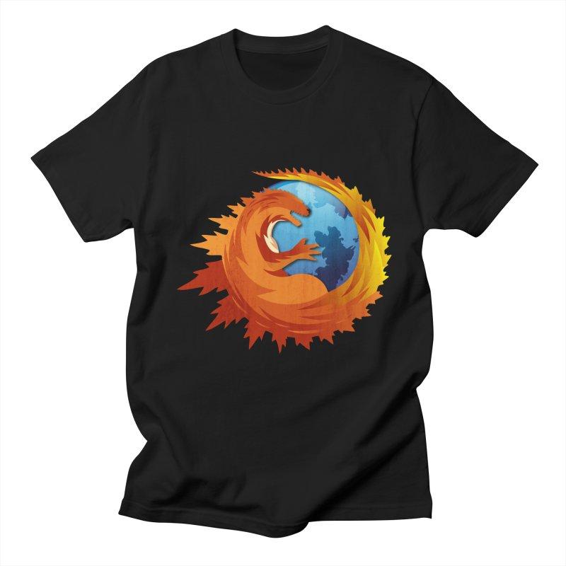 Godzilla Browser Men's T-shirt by AGIMATNIINGKONG's Artist Shop