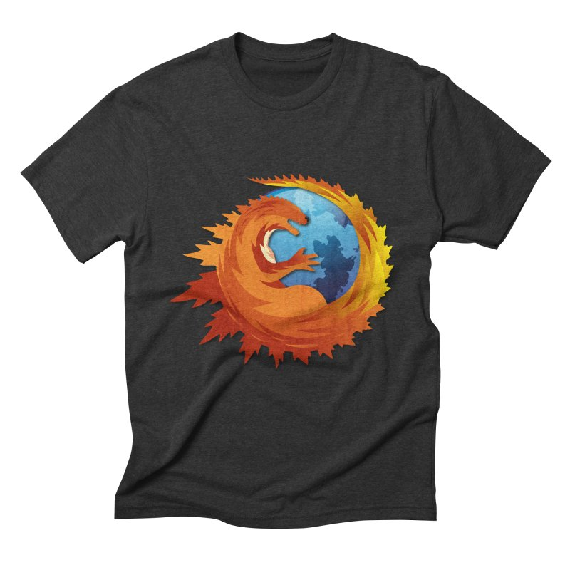 Godzilla Browser Men's Triblend T-Shirt by AGIMATNIINGKONG's Artist Shop