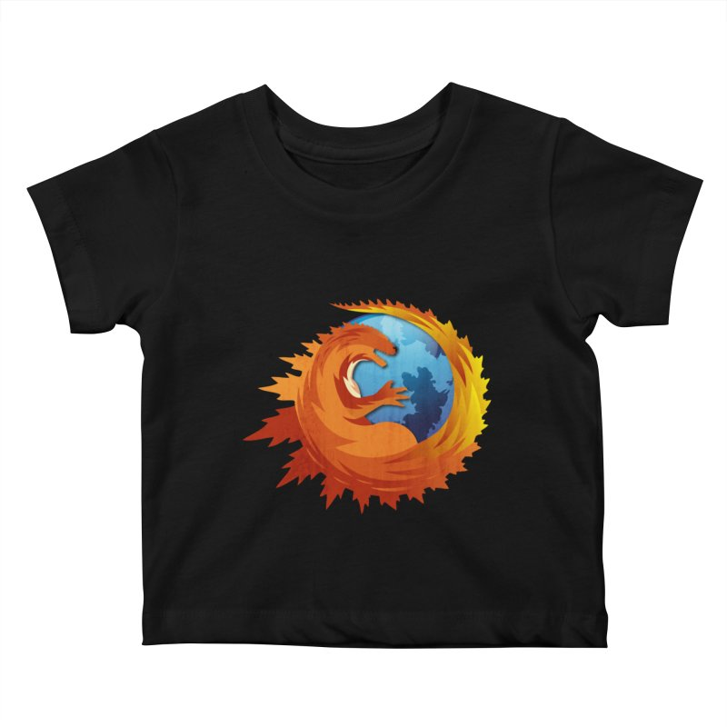Godzilla Browser Kids Baby T-Shirt by AGIMATNIINGKONG's Artist Shop
