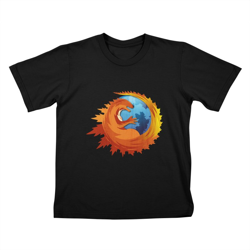 Godzilla Browser Kids T-Shirt by AGIMATNIINGKONG's Artist Shop