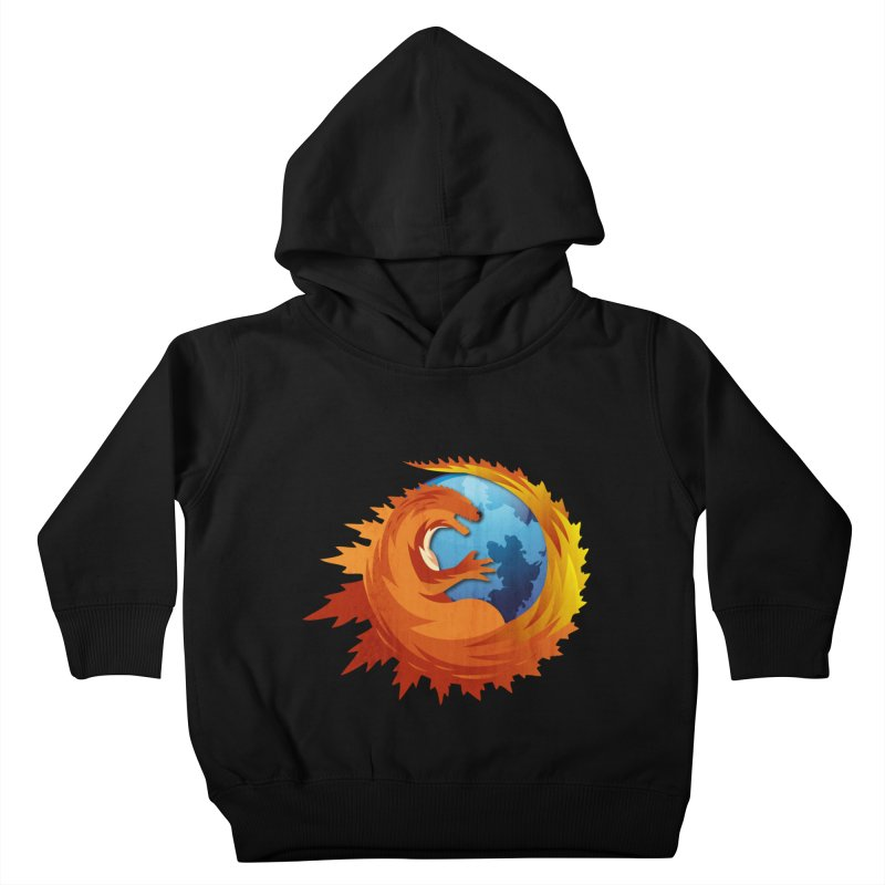 Godzilla Browser Kids Toddler Pullover Hoody by AGIMATNIINGKONG's Artist Shop