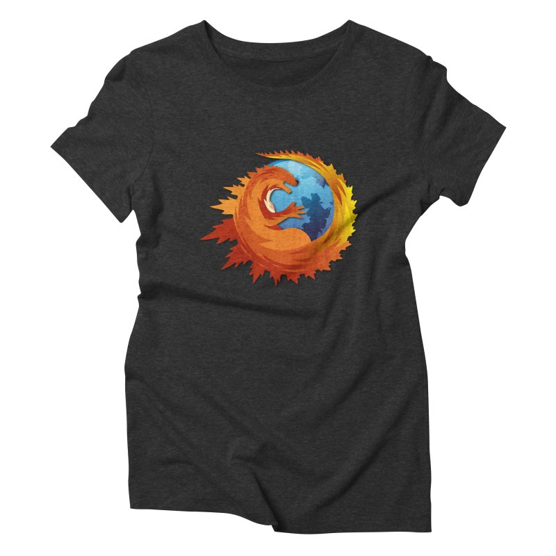 Godzilla Browser Women's Triblend T-Shirt by AGIMATNIINGKONG's Artist Shop