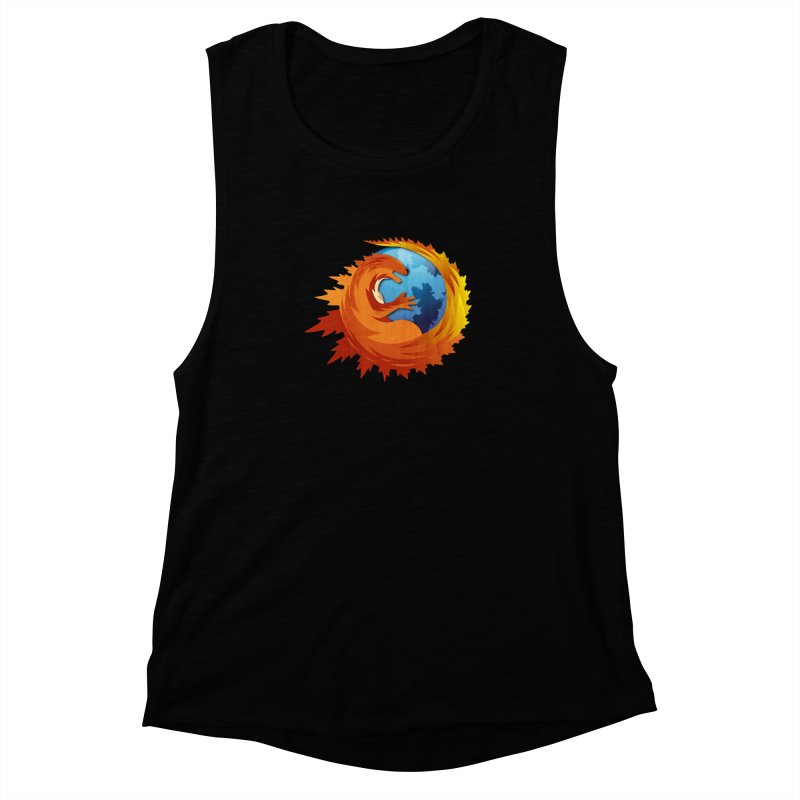 Godzilla Browser Women's Muscle Tank by AGIMATNIINGKONG's Artist Shop