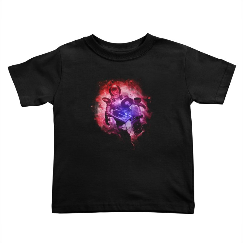 Air Waves Mix Kids Toddler T-Shirt by AGIMATNIINGKONG's Artist Shop
