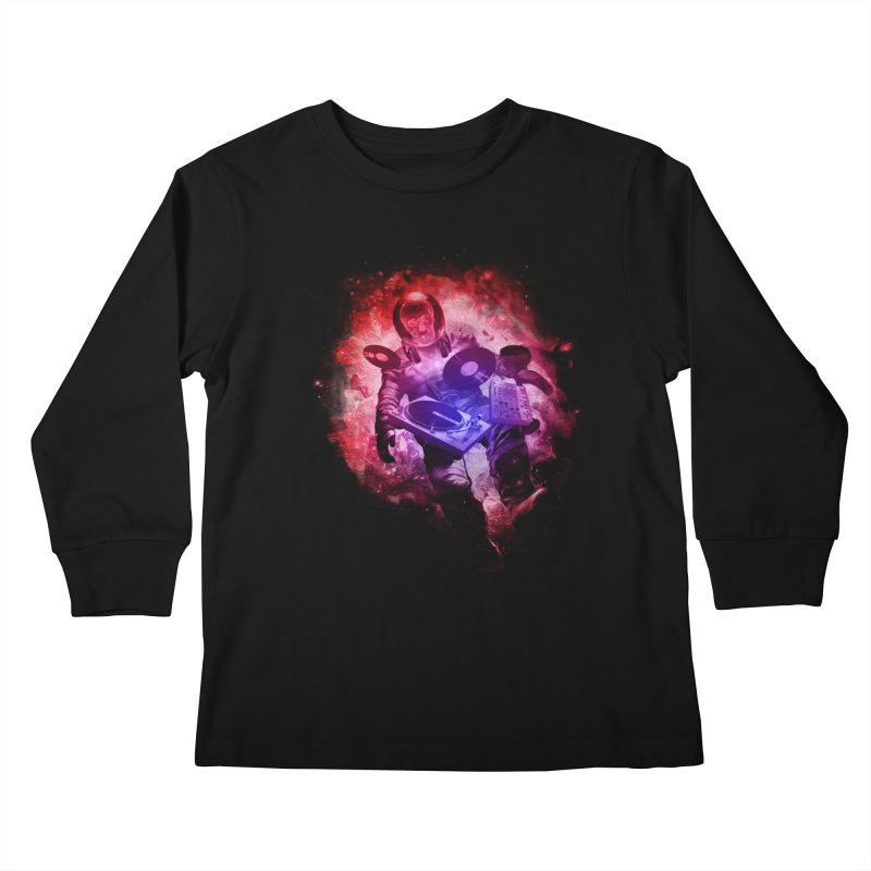 Air Waves Mix Kids Longsleeve T-Shirt by AGIMATNIINGKONG's Artist Shop