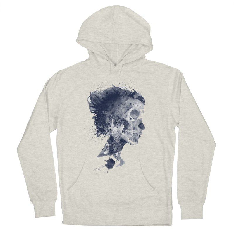 Muertos Men's French Terry Pullover Hoody by AGIMATNIINGKONG's Artist Shop