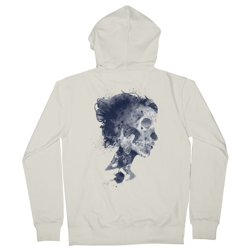 Muertos Women's French Terry Zip-Up Hoody by AGIMATNIINGKONG's Artist Shop