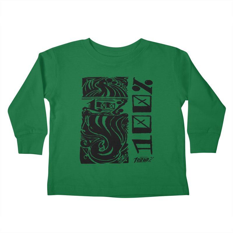 So 100 Kids Toddler Longsleeve T-Shirt by ArtHeartB