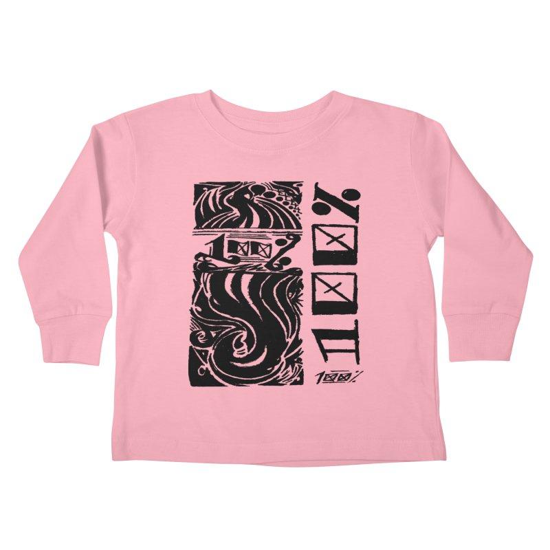 So 100 Kids Toddler Longsleeve T-Shirt by ArtHeartB