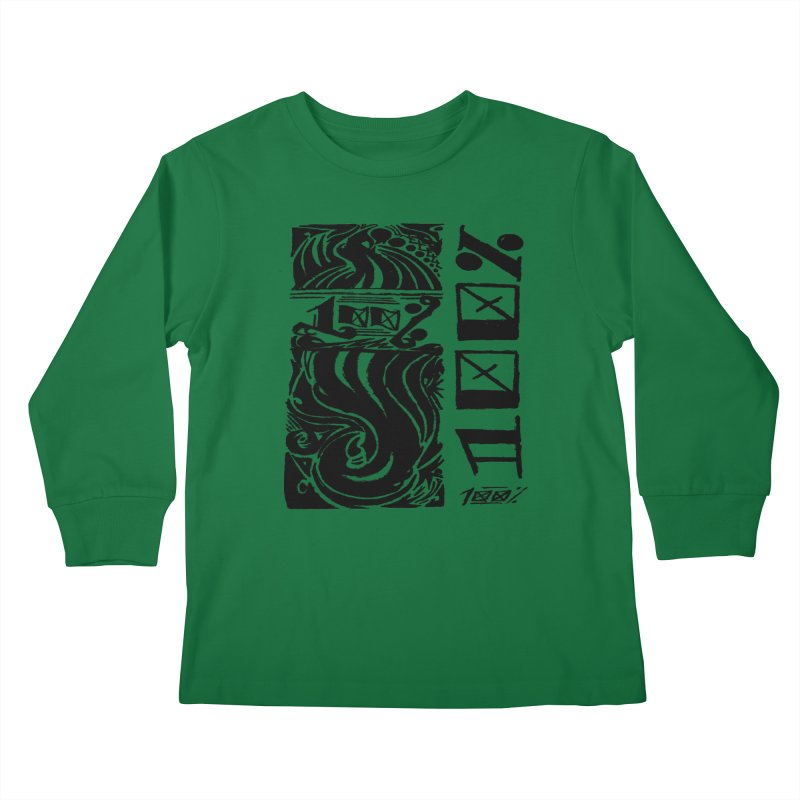 So 100 Kids Longsleeve T-Shirt by ArtHeartB