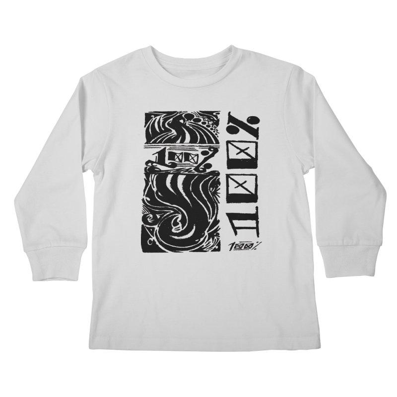So 100 Kids Longsleeve T-Shirt by ArtHeartB