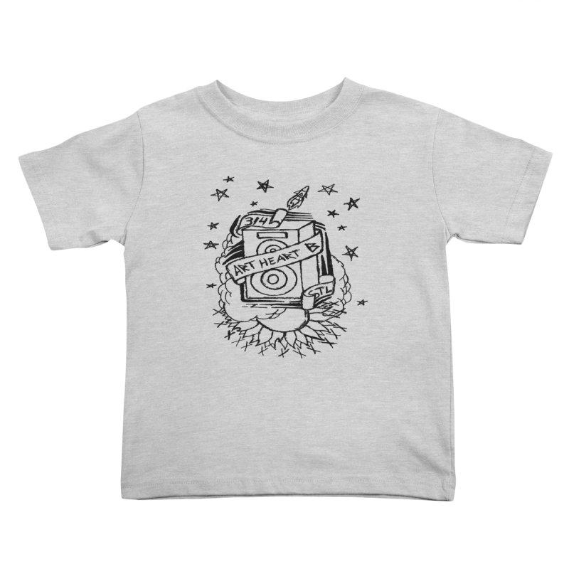 Space Bass Kids Toddler T-Shirt by ArtHeartB