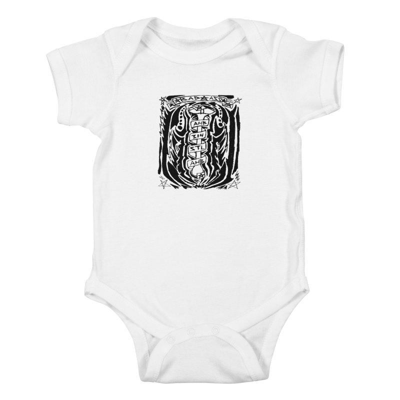 STL Bad Ass Kids Baby Bodysuit by ArtHeartB