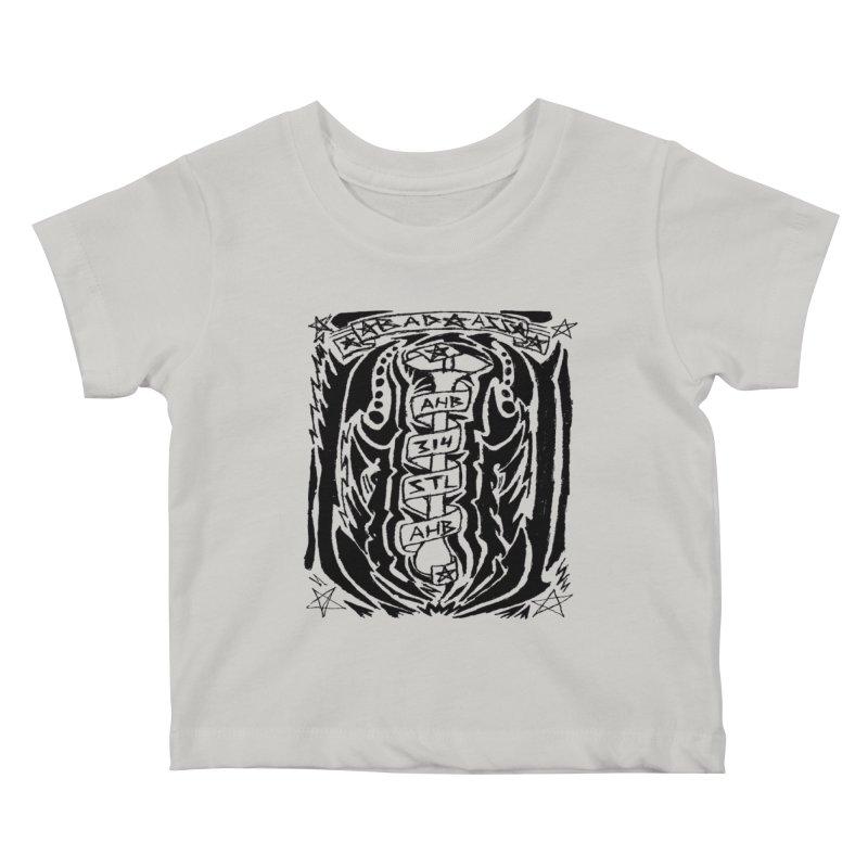 STL Bad Ass Kids Baby T-Shirt by ArtHeartB