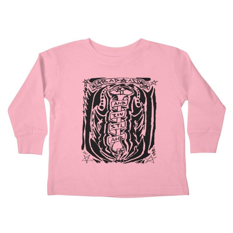 STL Bad Ass Kids Toddler Longsleeve T-Shirt by ArtHeartB