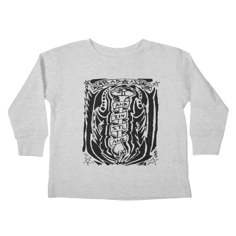 STL Bad Ass Kids Toddler Longsleeve T-Shirt by ArtHeartB