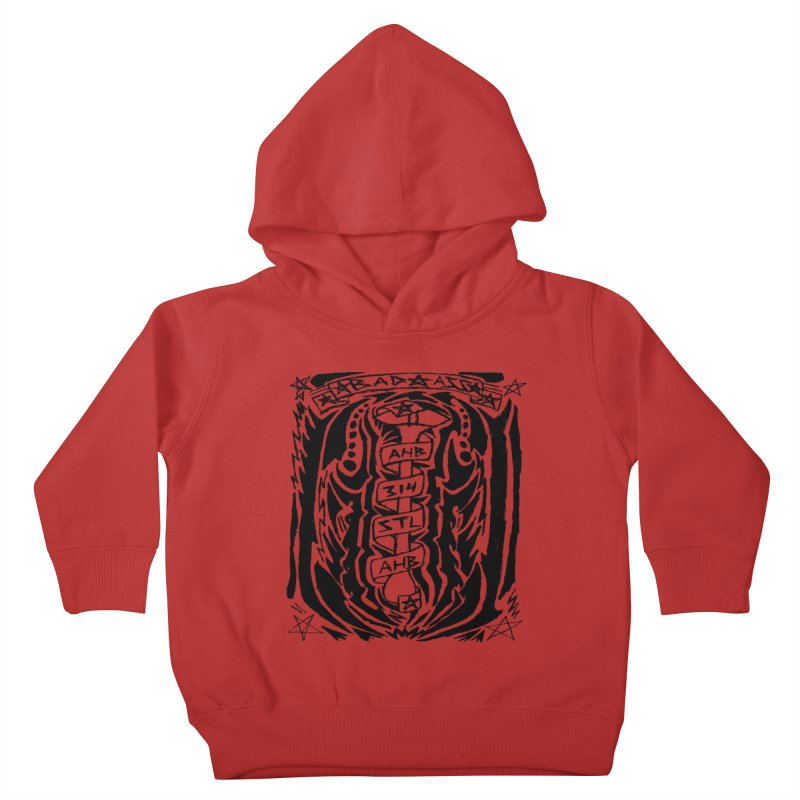 STL Bad Ass Kids Toddler Pullover Hoody by ArtHeartB