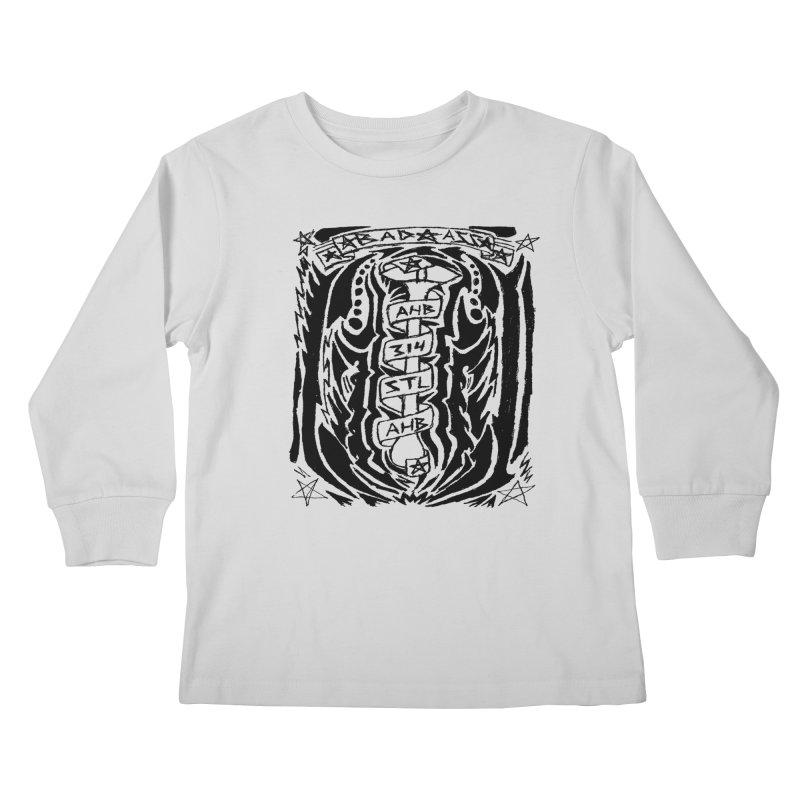 STL Bad Ass Kids Longsleeve T-Shirt by ArtHeartB