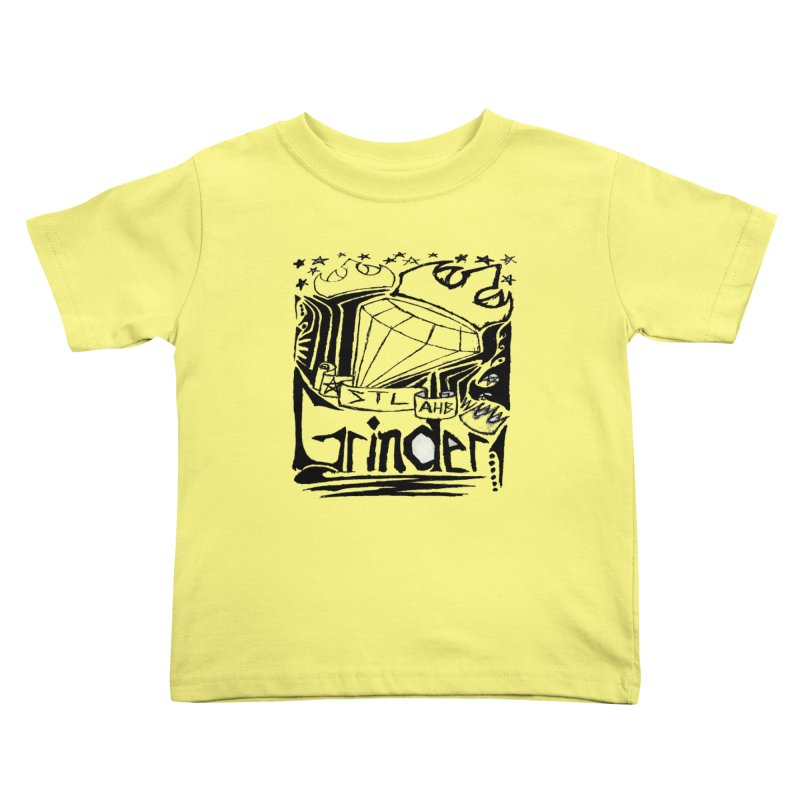 STL Grinder Kids Toddler T-Shirt by ArtHeartB