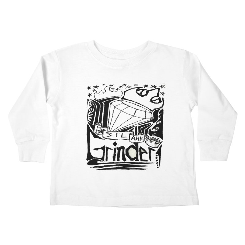 STL Grinder Kids Toddler Longsleeve T-Shirt by ArtHeartB