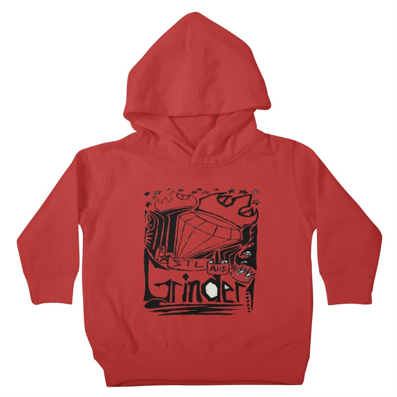 STL Grinder Kids Toddler Pullover Hoody by ArtHeartB