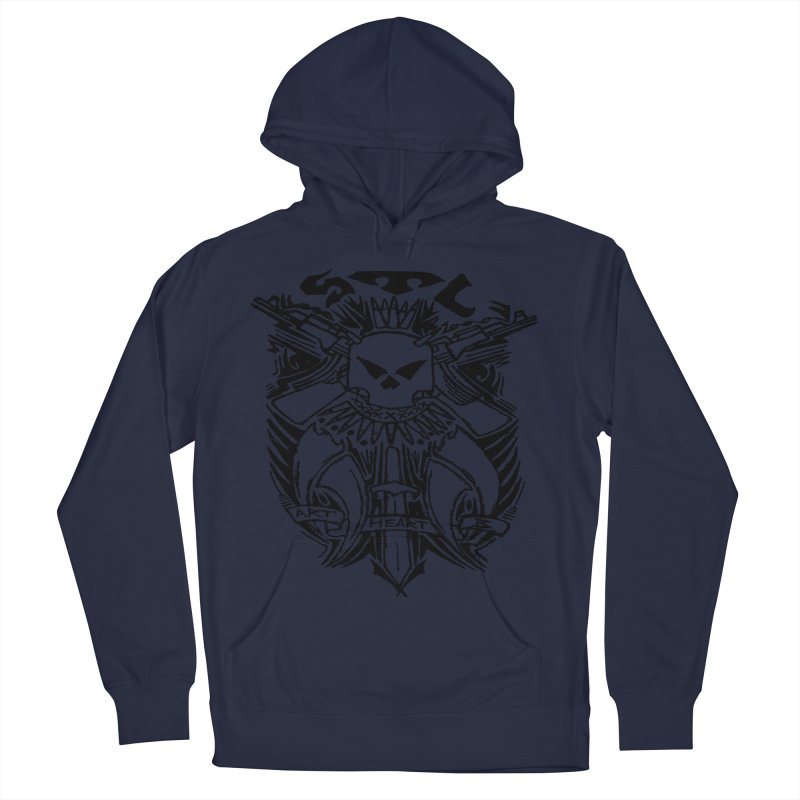 STL Savage Men's Pullover Hoody by ArtHeartB