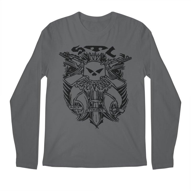 STL Savage Men's Longsleeve T-Shirt by ArtHeartB