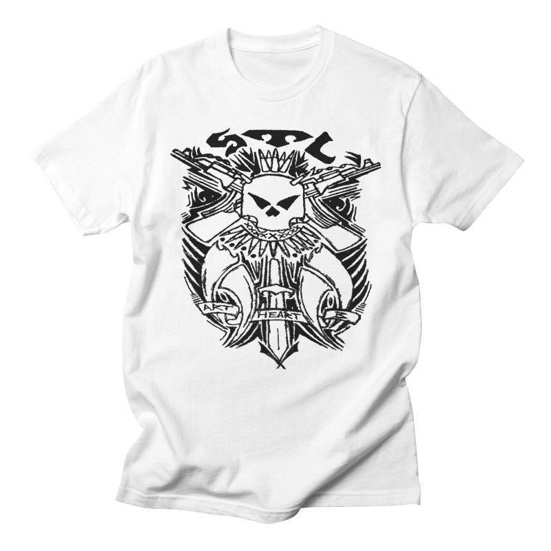STL Savage Men's T-Shirt by ArtHeartB