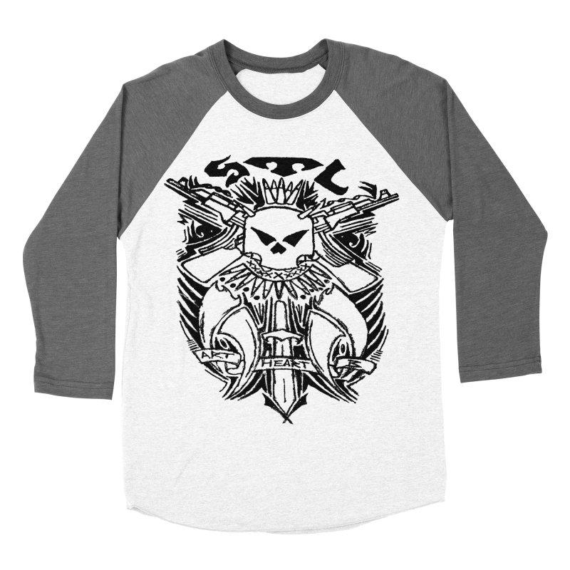 STL Savage Women's Baseball Triblend T-Shirt by ArtHeartB
