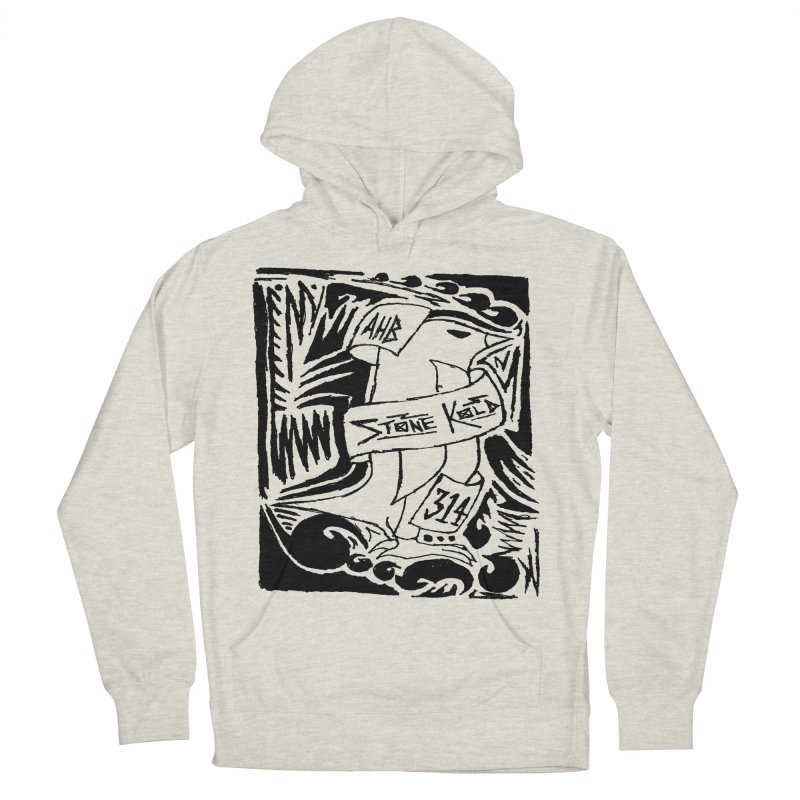 Stone Kold Men's Pullover Hoody by ArtHeartB