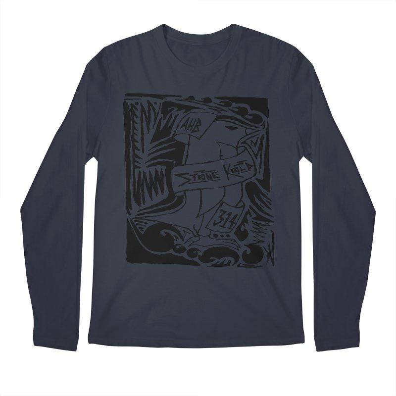 Stone Kold Men's Longsleeve T-Shirt by ArtHeartB