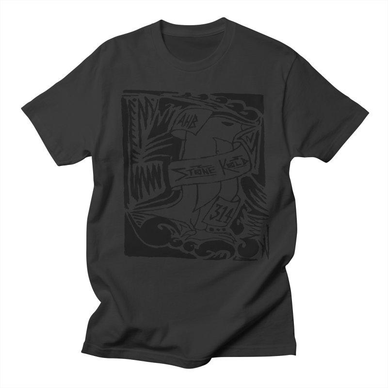 Stone Kold Men's T-Shirt by ArtHeartB