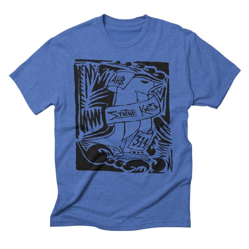 Stone Kold Men's Triblend T-Shirt by ArtHeartB